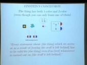 Spooky Actions At A Distance? Mysteries of the Quantum Theory, with N. David Mermin