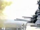 USS Wisconsin Firing 16