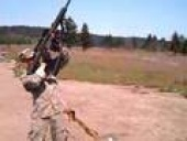 50 Cal Barrett sniper Rifle- Standing