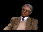 Thomas Sowell talks about his new book Economic Facts and Fallacies (2008)