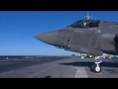 Joint Strike Fighter Takes Off From USS Wasp