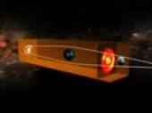 Gravitational Lensing Animation