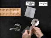 Reaction of metal with non-metal