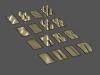 2D Standing Wave Patterns (Rectangular)