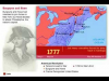 Map of the American Revolution (1760-1783)