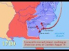 Map of the American Revolution (1775-1783)