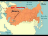 History of Russia Map (1533-Present)