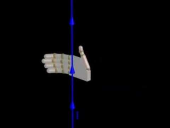 Right Hand Rule in a Straight Wire