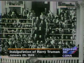 President Harry S. Truman 1949 Inauguration