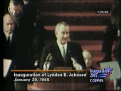 President Lyndon Johnson 1965 Inaugural Address