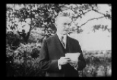 President Calvin Coolidge, on the White House Ground (1924)